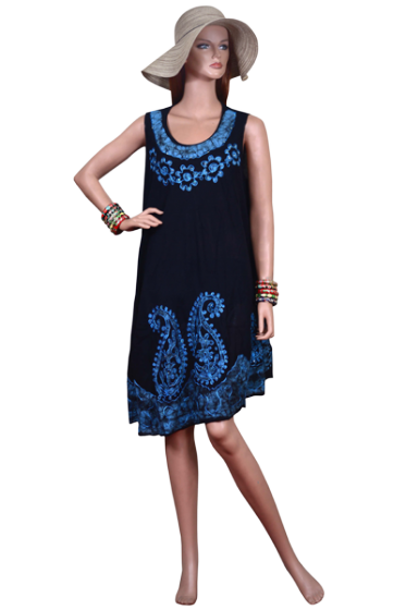 Rima Beach - Bata dress Blue